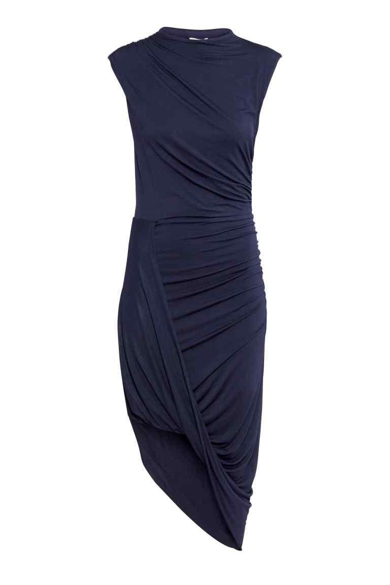 gran variedad de comprar gran venta Vestido drapeado | H&M … | Inspiración en 2019…