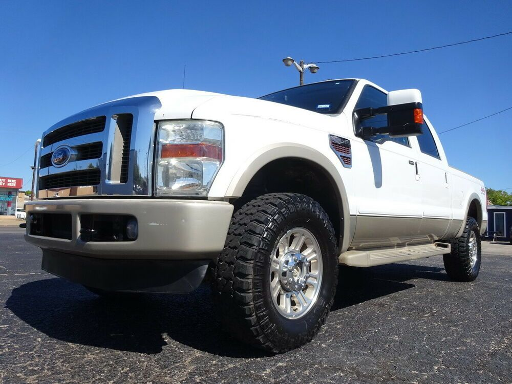 2009 Ford F250 King Ranch 09 Ford F250 Fx4 King Ranch V8