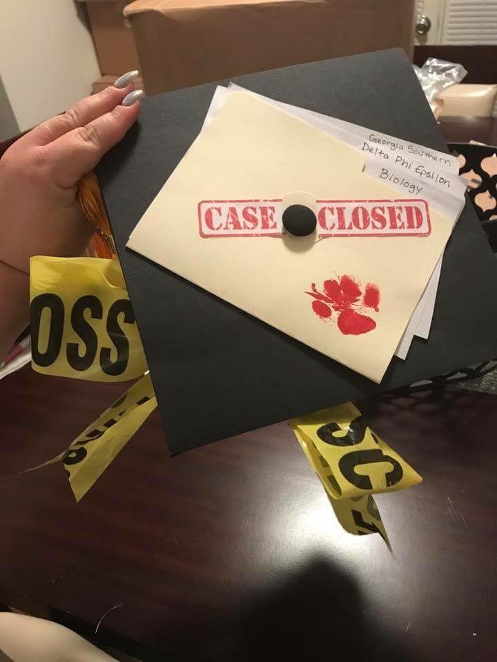 Criminal Justice With Images Graduation Cap Decoration Diy