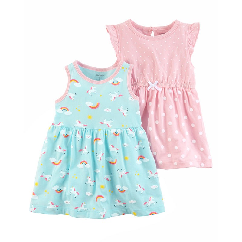 8d594ac3b Carter's Sleeveless Flutter Sleeve Dress Set - Baby Girls | Products ...