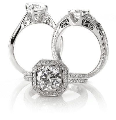 custom engagement rings houston - Wedding Rings Houston