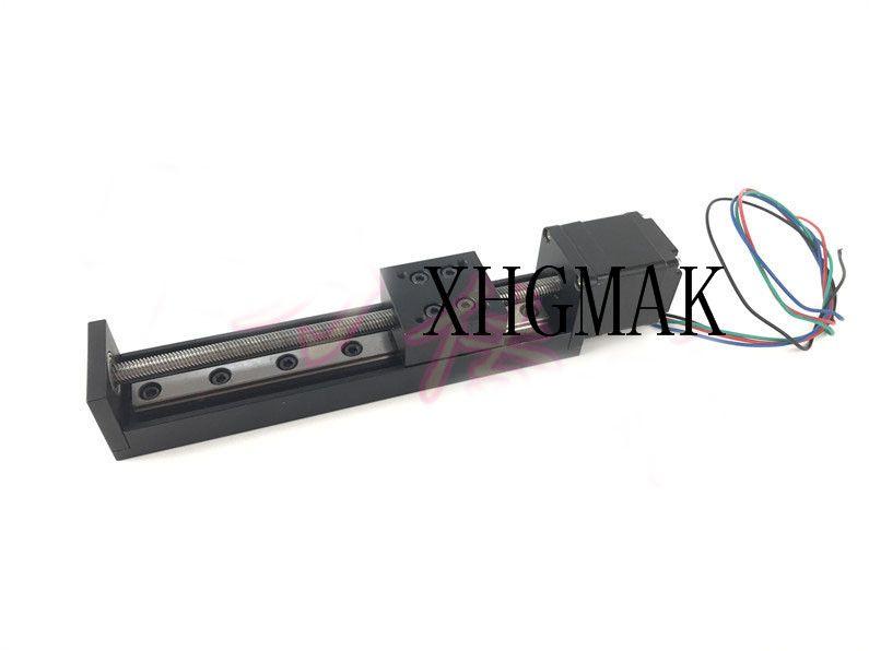 Micro-slide CNC ST 28 motor Ballscrew Sliding Table effective stroke