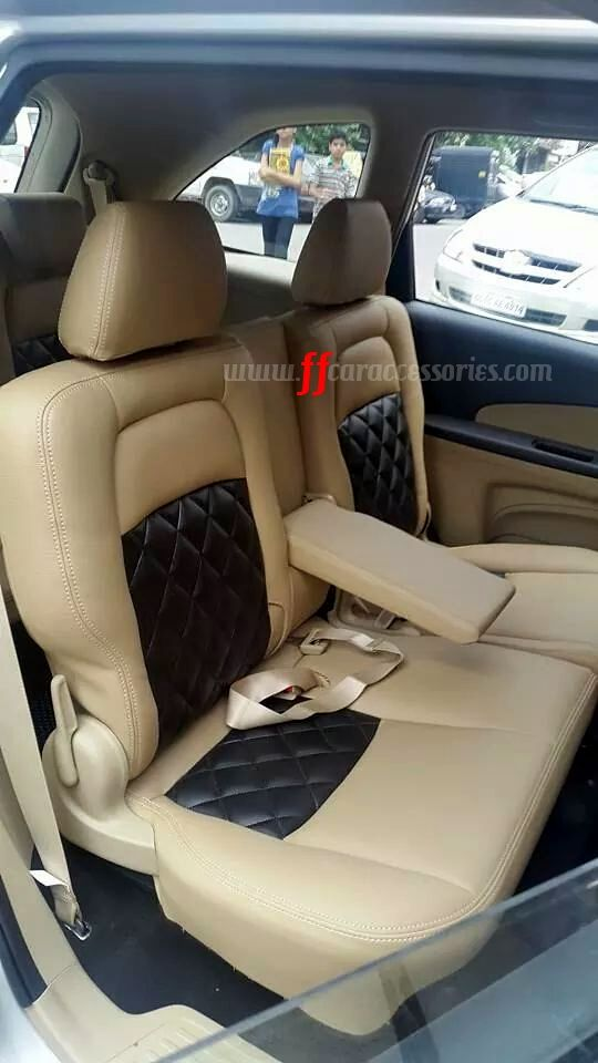 HONDA MOBILIO car seat cover customized by Team FF car accessories ...