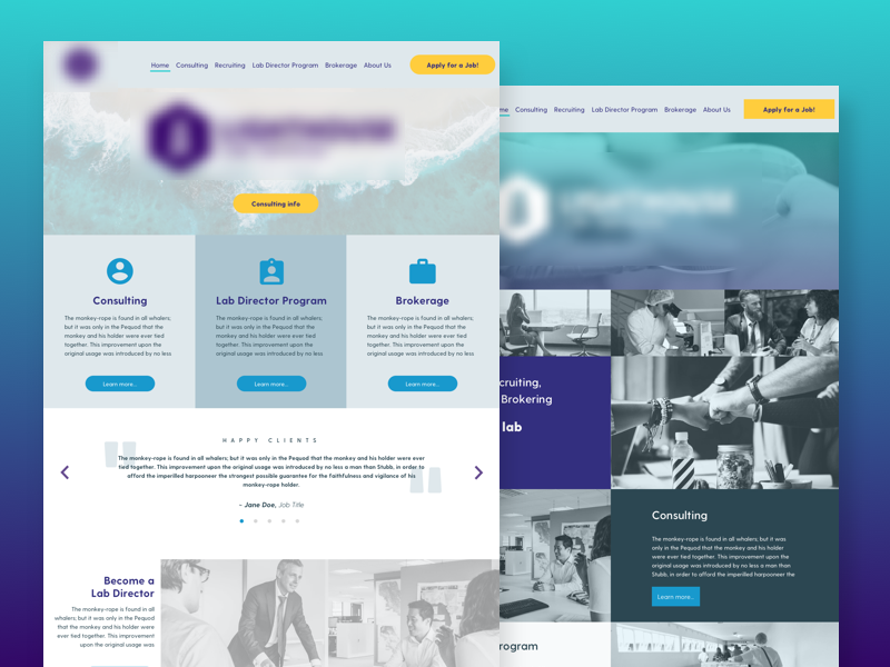 Homepage Designs Homepage Design Design San Rafael