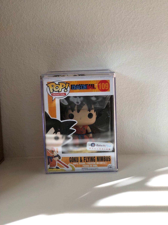 Selling Brand New Dbz Kid Goku Flying Nimbus Orange Suit Galactic Toys Exclusivefunko Pop 109 All Funko Pops Are Delivered With Kid Goku Galactic Toys Goku