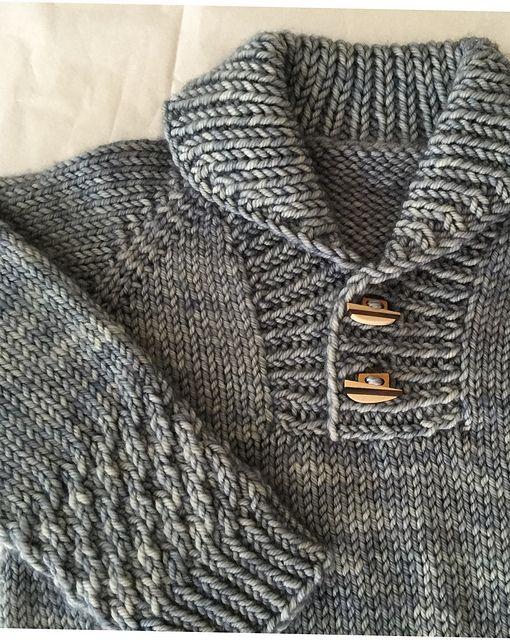 Boy Sweater pattern by Lisa Chemery | Tejido, Bebe y Bebé