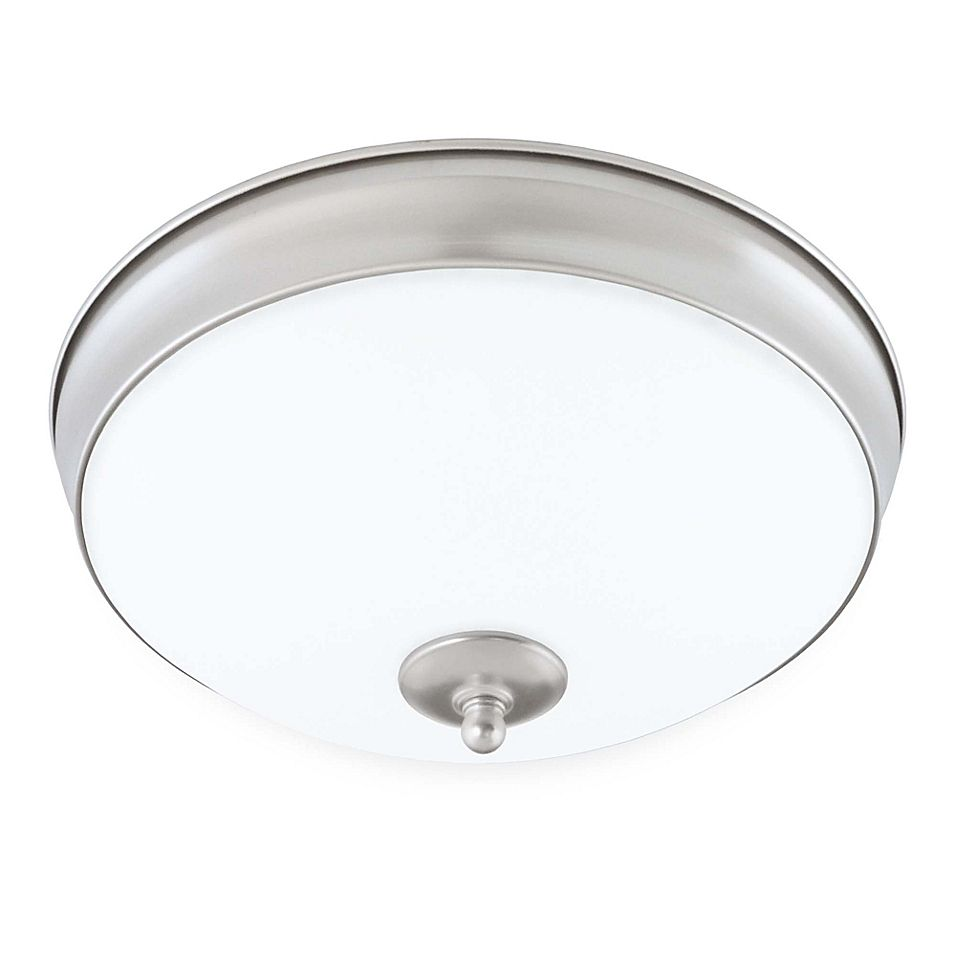 Good Earth Lighting Legacy 11 Inch Led Flush Mount Bath Ceiling Light Fixture In Nickel Bath Light Fixtures Ceiling Light Fixtures Light Fixtures