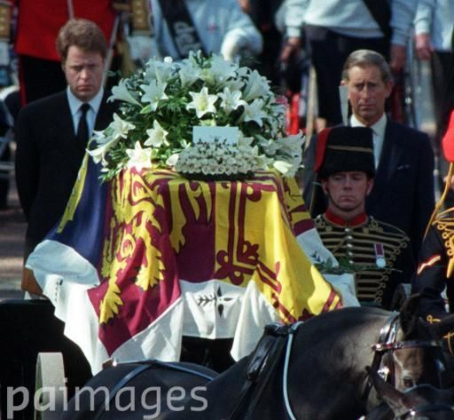 Earl Spencer (left), the brother of Diana, Princess of ...