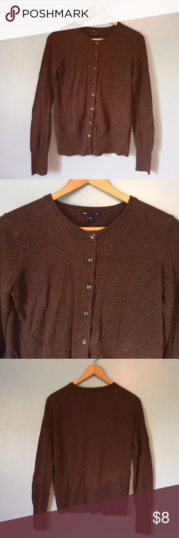 ⭐️SALE⭐ GAP Brown Cardigan | Brown, Conditioning and Customer ...