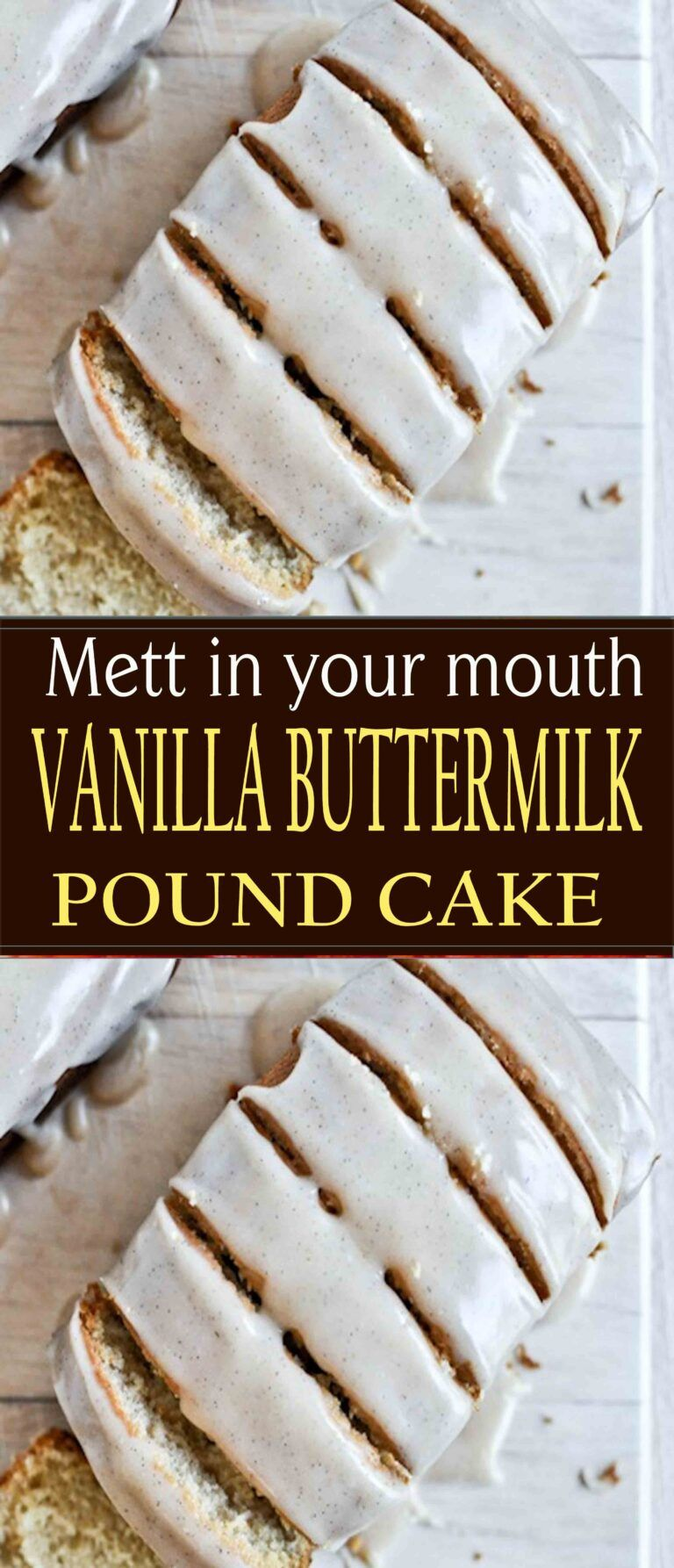 Vanilla Buttermilk Pound Cake Magicrecipess In 2020 Buttermilk Pound Cake Pound Cake Buttermilk