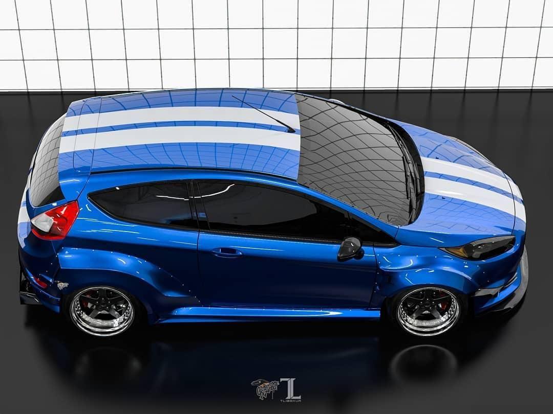 Ford Fiesta Mk7 3dr Wide Body Kit Krotov Pro In 2020 Body Kit Wide Body Kits Wide Body