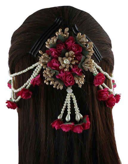Pin By Samriddhi On Jewellery In 2020 Hair Brooch Hair
