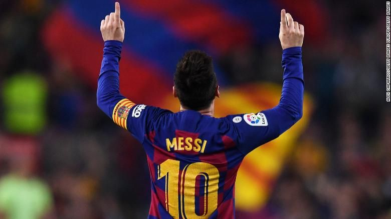 Ansu Fati Becomes The Youngest Scorer In Ucl History Cnn Lionel Messi Messi Leonel Messi