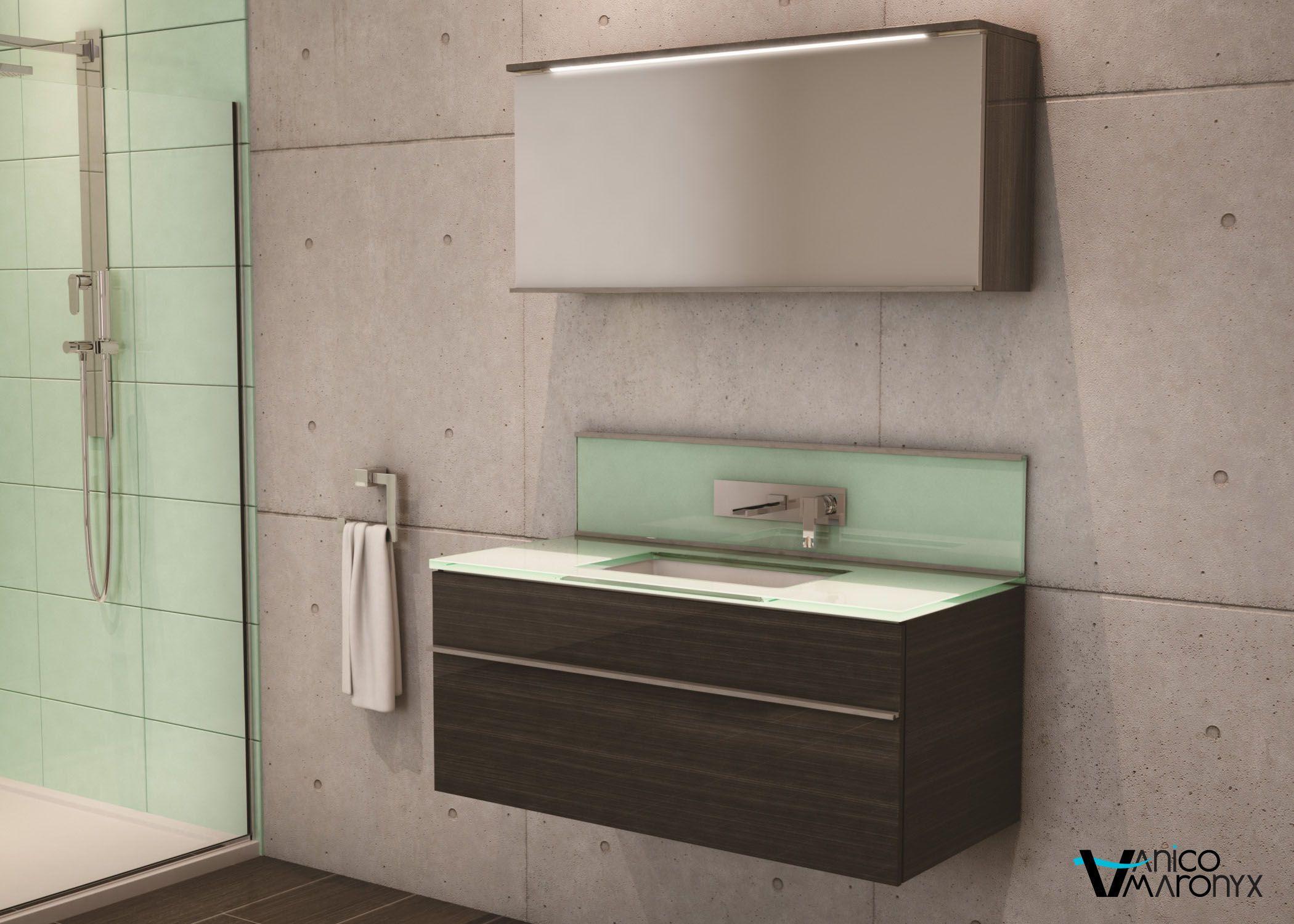 Mobilier de salle de bain TIMES SQUARE de la SÉRIE LOFT - VANICO ...