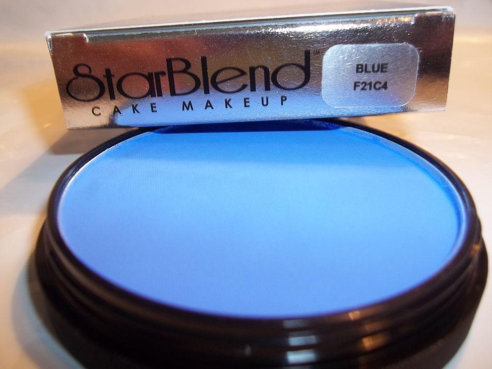 Mehron Blue Star Blend Cake Pancake Water Base Stage Makeup Professional Usa Ebay Mehron Professional Makeup Stage Makeup