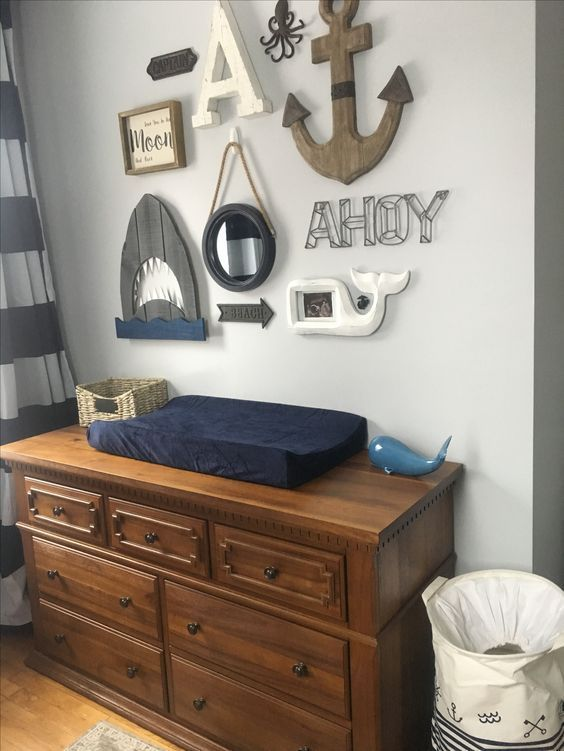 Nautical Baby Boy Nursery Room Ideas: Nautical Nursery, Boy Room