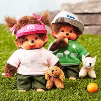 Everyone's favorite furry friends have been going strong now for over 35 years, and this delightful collection combines the original Monchhichi appeal with whimsical new outfits that your little ones will fall in love with. One look at their adorable faces and you'll be transported back to a time of Saturday morning cartoons, vintage lunch boxes and your favorite childhood toys.