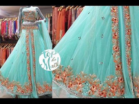 82b11bf442 5 Gorgeous Ways To Wear Lehenga Saree & Makeup | How To Wear Lehenga In  Different Style to Look Slim - YouTube