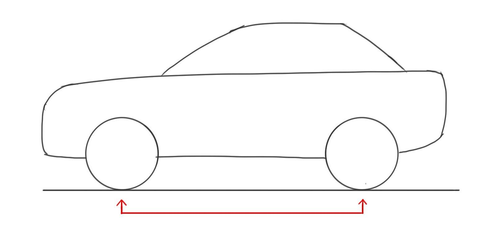 car-drawing-basics-car-proportions.jpg (1608×750) | Drawing Lessons ...