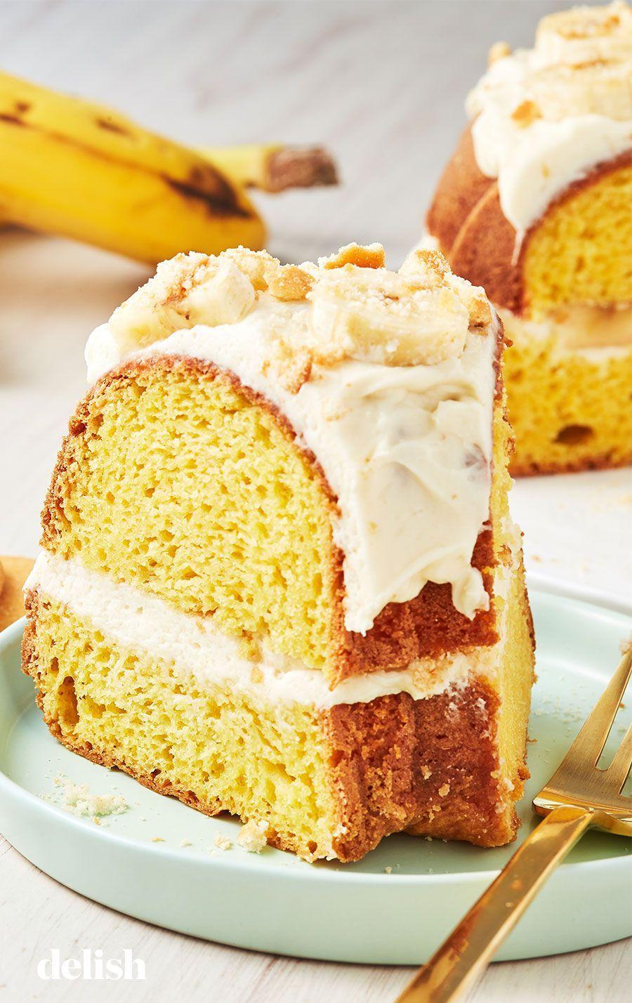 Banana pudding bundt cake recipe banana pudding