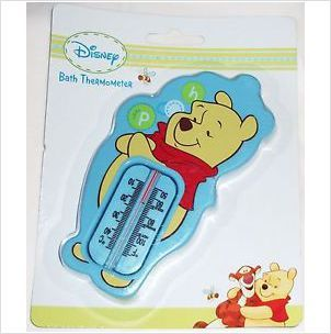 DISNEY WINNIE THE POOH BLUE BATH THERMOMETER BRAND NEW SEALED PACKET £2.99+FREE POSTAGE