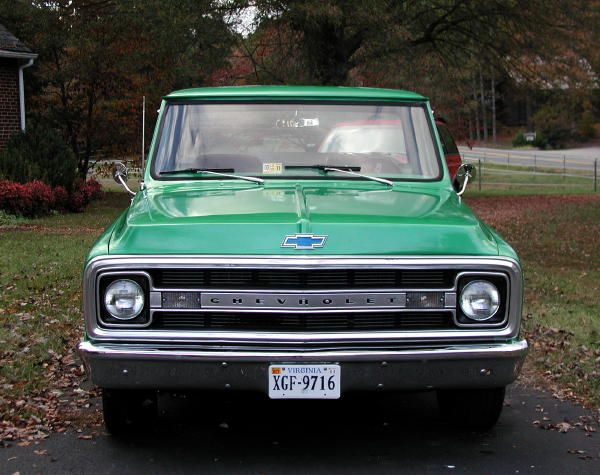 Green C10 Truck Register Or Log In To Remove These Advertisements C10 Chevy Truck Classic Truck Chevy Trucks