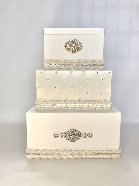 Wedding Card Box with Lock Classic Wedding Card Holder Wedding Card ...