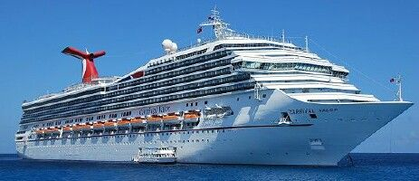 Carnival Valor Webcams Bridge Forward Webcam Camera - Webcams on cruise ships