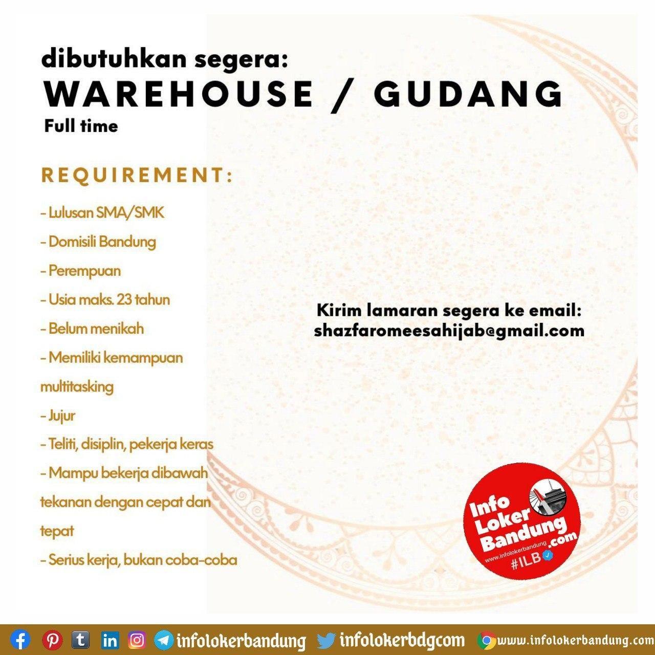 Info Loker Bandung September 2020 Kumpulan Informasi