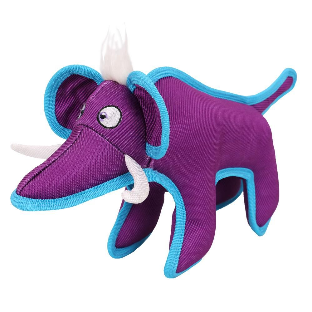 Pet Life Purple Animal Dura Chew Reinforce Stitched Durable Water
