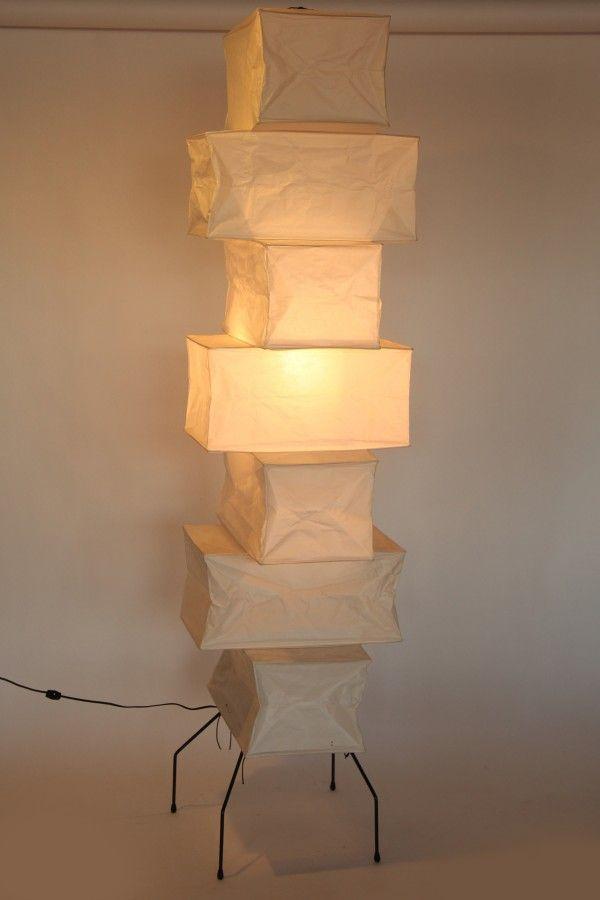 Akari floor lamp   Living with Light - Lighting your Living Space ...