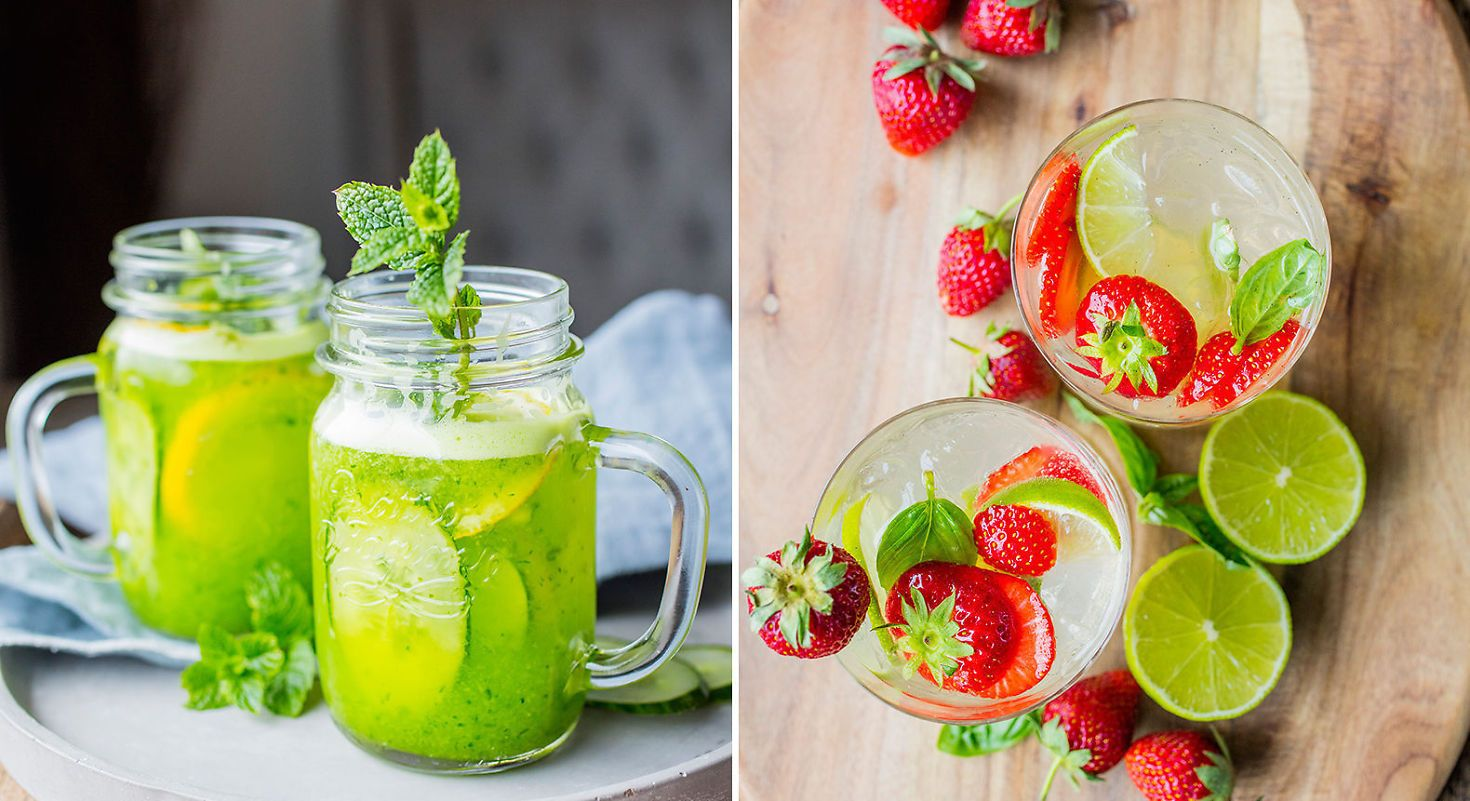 Friskt i glasset: Sommerens beste drinker