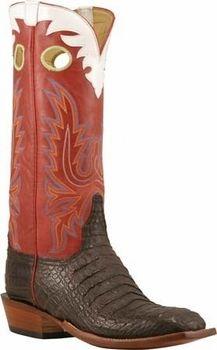 39fd2312ce7 Mens Lucchese Classics Chocolate Hornback Caiman Crocodile Custom ...