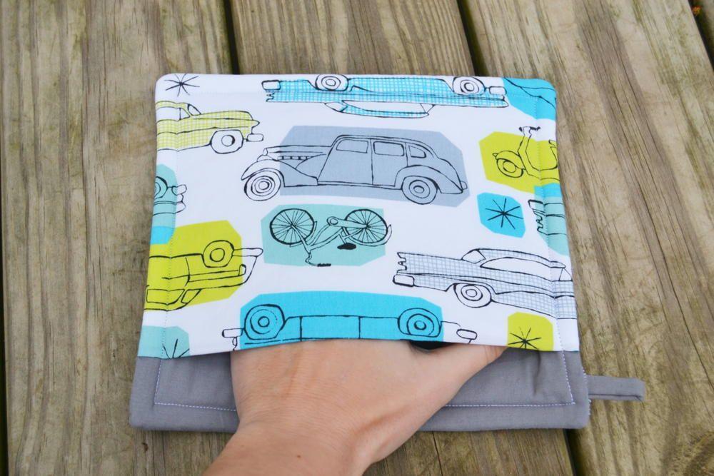 Easy Pocket Potholder | sewing | Pinterest | Küche und Nähen