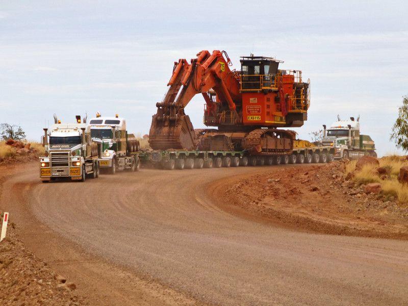 Doolan S Heavy Haulage From Australia With Hitachi Excavator Transport Heavy Equipment Trucks Haulage