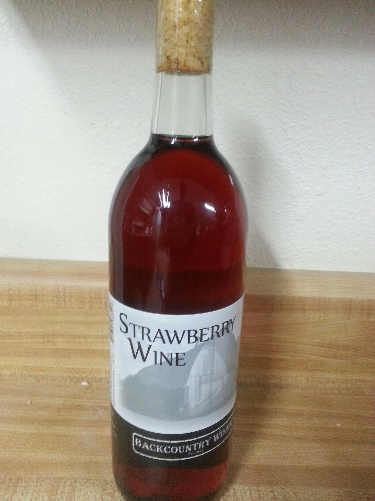 Strawberry Wine Strawberry Wine Wine Bottle Wine