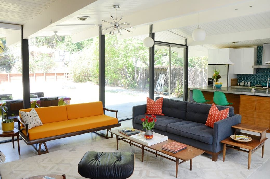 Elegant House Tour: A Mid Century Modern Home In Northern California
