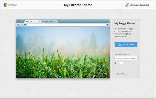 Official Theme Creator for Google Chrome - My Chrome Theme