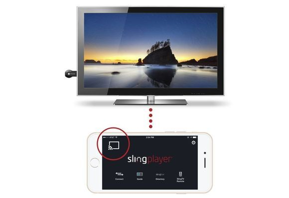 If you've got a Slingbox, you can now cast live and recorded television to any TV outfitted with Google's $35 Chromecast dongle. Slingbox support for Chromecast? Why yes....