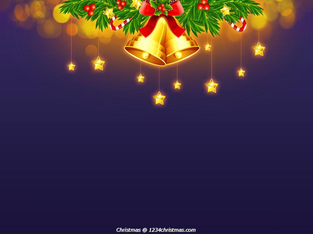 Merry Christmas Bells Wallpaper Christmas Wallpaper
