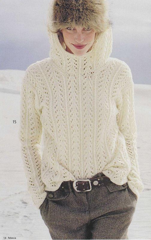 Rebecca № 32 | jerseys señora | Pinterest | Tejidos, Agujas y ...