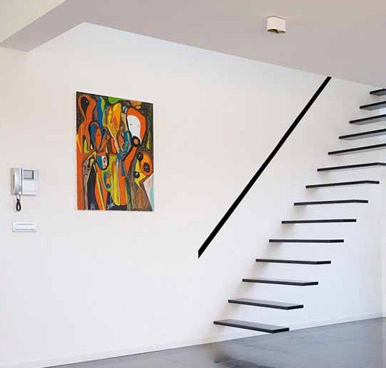 Suspended Style 32 Floating Staircase Ideas For The: Floating Staircase, Staircase Design