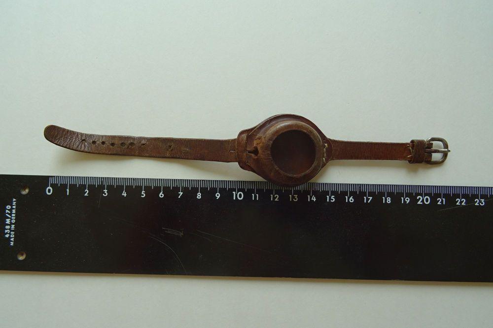 Details zu Flieger bzw. Offizier Armbanduhr Lederarmband Air Force 1 ...