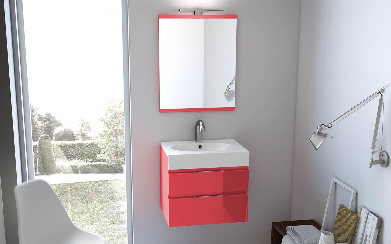meuble salle de bains egoiste decotec, version 2 tiroirs | salle de