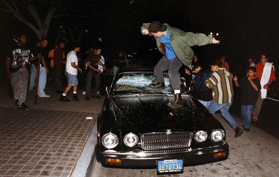 Photos: The 1992 Los Angeles riots | CRIME SCENES | Los