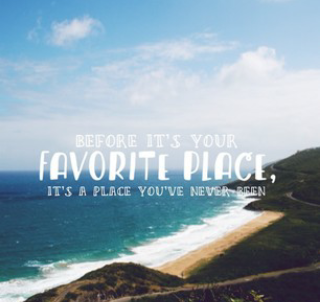 your favourite place