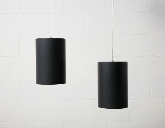 Raak cylinder can pendant lamp amsterdam modern luminare two can light pendant panel simple pieces fabulous classic white black chandelier hanging cylinder mozeypictures Images