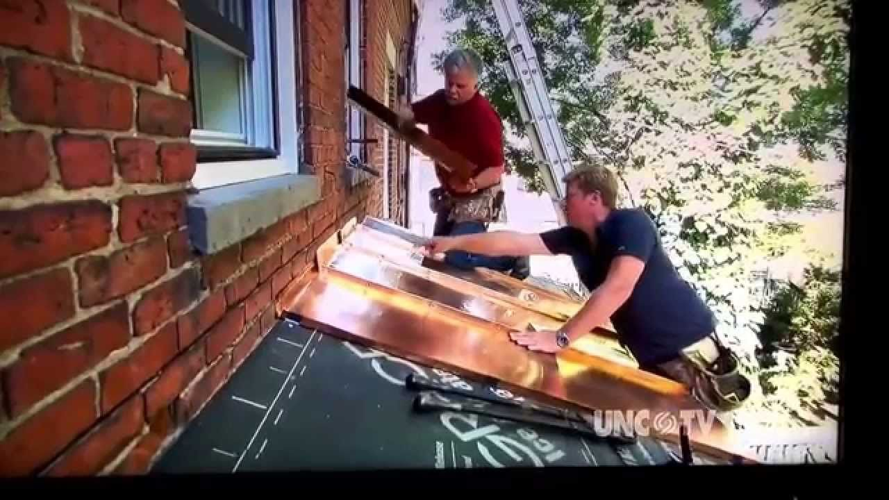 Copper Roof Panel Install Roof Panels Copper Roof Standing Seam