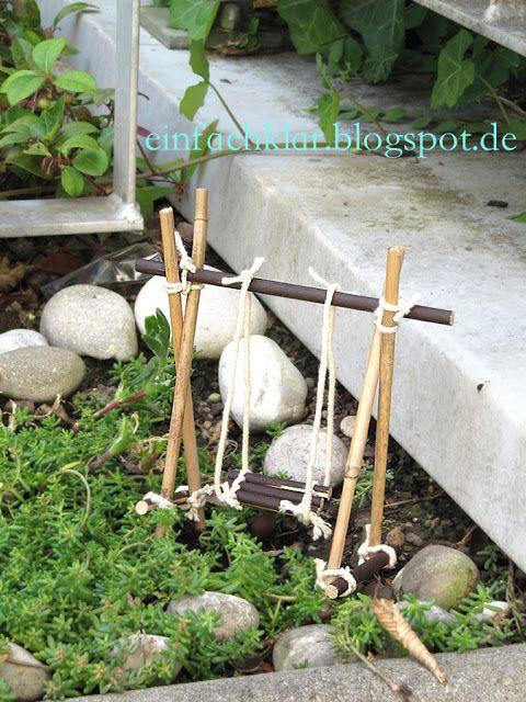 Qing's joy of creation: fairy garden swing