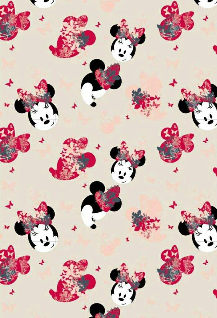 minnie wallpaper♡ uploaded by frozenpink♡ on We Heart It